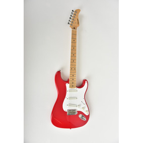 Fernandes Stratocaster Made In Japan Candy Apple Red