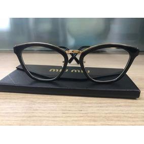 354800d3b002b Armacao Oculos Feminino De Grau Miu - Óculos em Ceará no Mercado ...