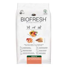 Ração Biofresh Super Premium Cachorro Adulto Raça Mini/pequena Carne/frutas/vegetais 3kg