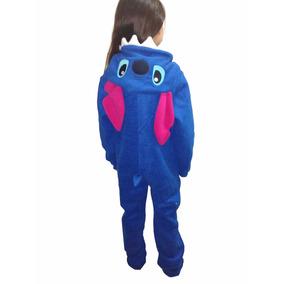 Pijama Enterizo Niños/as Con Capucha. Talles 2 Al 12