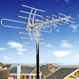 1080p Hdtv Rotor 360 Amplificar Antena Digital Hd Tv 150