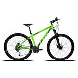 Bicicleta Tsw Aro 29 27v Cambio Acera Suspensão C/ Trava
