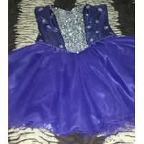 Vendo Vestido De 15 Años 3 Piezas Color Violeta