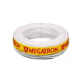 Fio Coaxial Conjunto Parabólica 47% Branco Megatron Com 100