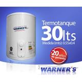 Termotanque / Calefon Tanque De Cobre 30lts Warners Plus