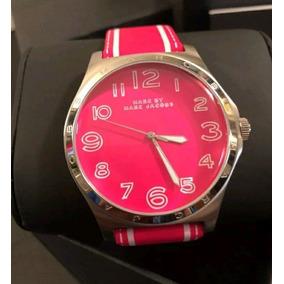 Reloj Marc Jacobs Dama Rosa Piel Envio Gratis