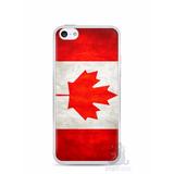 Capa Capinha Case Iphone 5c Bandeira Do Canadá