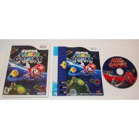 Wii: Super Mario Galaxy Americano Completo! Novinho! Jogão!
