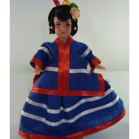 Muñeca Con Traje Típico De Morelos