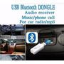 Receptor Usb Bluetooth Para Auto Autoradio Equipo De Sonido