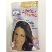 Henê Gel 180g - Pouch - Divina Dama - Preto Forte