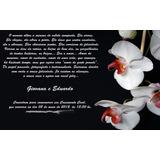 10 Convite Casamento Civil Orquídea Preto Ju Uva