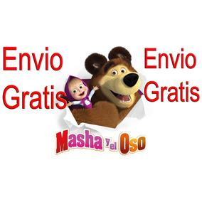 Masha Y El Oso Hablan Parlantes Musicales Envio Gratis