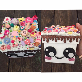 Caja Kawaii Decoden Unicornio Postres Sweet Guarda Accesorio