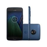 Smartphone Motorola Moto G5 Plus 32gb Azul - Dual Chi