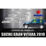 Coberto Cromado De Manillas Grand Vitara 2010 Suzuki