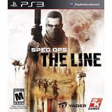 Spec Ops The Line Ps3 Código Psn Original Completo Receba Já