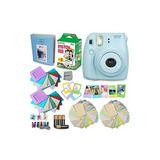 Fujifilm Instax Mini 8 Camera Blue Accessories Kit Para Fuji