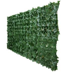 Muro Inglês Vertical Artificial Folha Hera 3 X 1 Metros