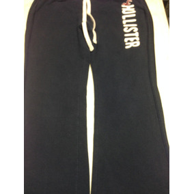 Pants Deportivo Hollister Mujer Azul Marino L