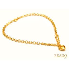 5d8ba82ac4ec7 Pulseiras  De Ouro 18k Feminino De Coraçao - Joias e Relógios no ...