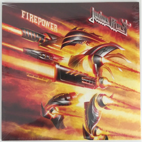 Lp Duplo - Judas Priest Firepower (2018) 180 Gramas Lacrado!