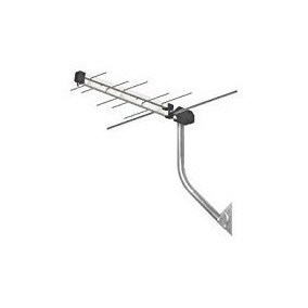 Antena Digital Uhf/vhf Com Mastro Sem Cabo