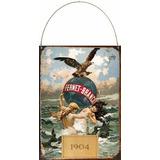 Cartel De Chapa Publicidad Bebida Fernet Branca 1904 L540