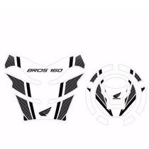 Protetor Tank Pad Top Tanque Bocal Moto Honda Bros 160 M03