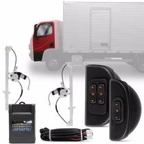 Kit Vidro Elétrico Sensorizado Caminhão Accelo 12 À 17 12v