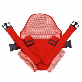 Canguru Click Vermelho - Suporta Até 15 Kg - Bebê Passeio