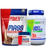 Kit Whey Protein Moran + Massa Choco + Creatina Nutrilatina