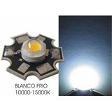 Bombillo Led De Potencia 3w Con Disipador 3.6vdc Blanco Frio