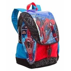 Mochila Homem Aranha Spider Man M 17z Escolar Sestini