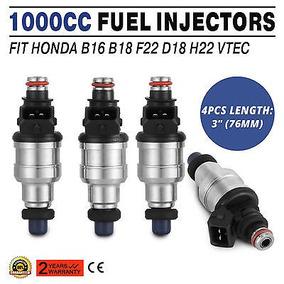Inyectores Para Honda Vtec Hq Gratis Clips 1000cc Accord...