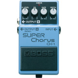 Pedal Guitarra Boss Super Chorus Ch-1 Frete Gratuito Ch 1 Nf