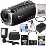 Sony Handycam Hdr-cx455 8gb Wi-fi Hd Videocámara Con 32 Gb