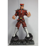 Escultura Bison Street Fighter 45 Cm