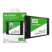 Ssd Wd Green 1tb 2.5 Int Sata3 3d