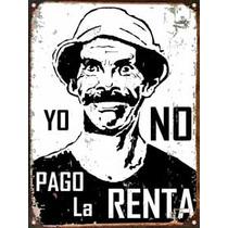 Cartel Chapa Publicidad Antigua Don Ramon Renta M019