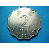 Moneda Hong Kong 2 Dolares 1995