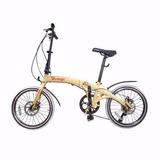 Bicicleta Dobrável Pliage Two Dogs 7 Marchas Freio A Disco