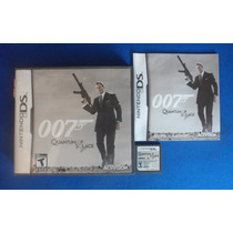 007 Quantum Of Solace Nintendo Ds Nds Retromex Tcvg