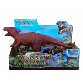 Dinosaurio Tiranosaurio Rex Figura Soft.