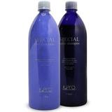 K Pro Kit Silver Shampoo + Condicionador + Máscara Caviar