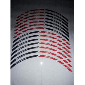 Calcos Llantas Honda Cg Twister Reflectivos Personalizados
