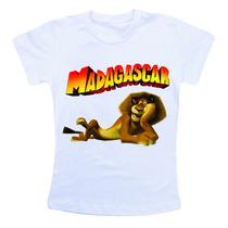 Camiseta Infantil Personalizada Madagascar Cm185