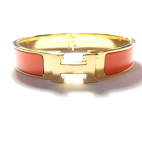 480c53b3b6d Bracelete Pulseira Hermes Clic Clac - Pulseiras e Braceletes ...