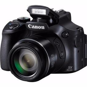 Canon Sx60 Hs Powershot 16mp 65x Zoom Wifi Full Hd