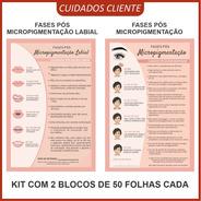 Kit Cuidados Pós Micropigmentação De Sobrancelha / Labial
